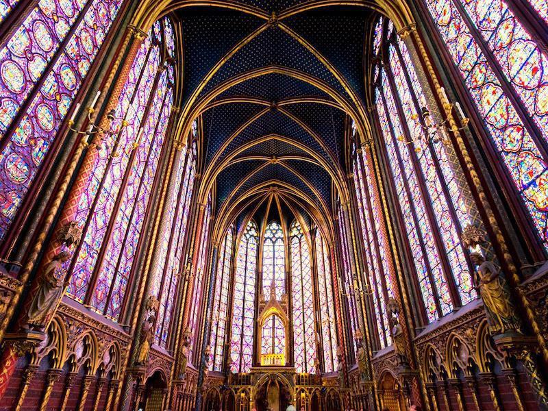 Sainte-Chapelle interior