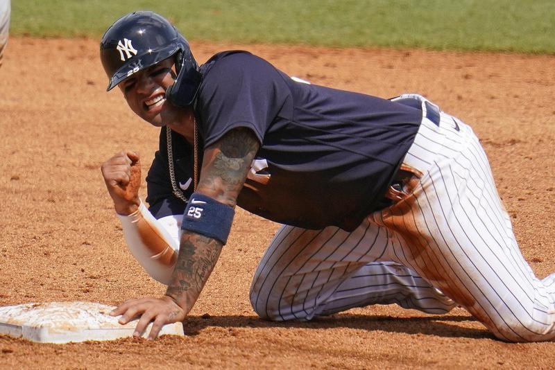 New York Yankee second baseman Gleyber Torres