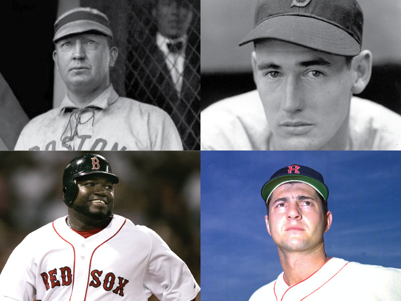Boston Americans/Red Sox Mount Rushmore