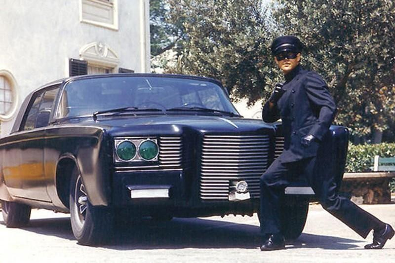 5. 1966 Chrysler Imperial Crown, AKA the Black Beauty