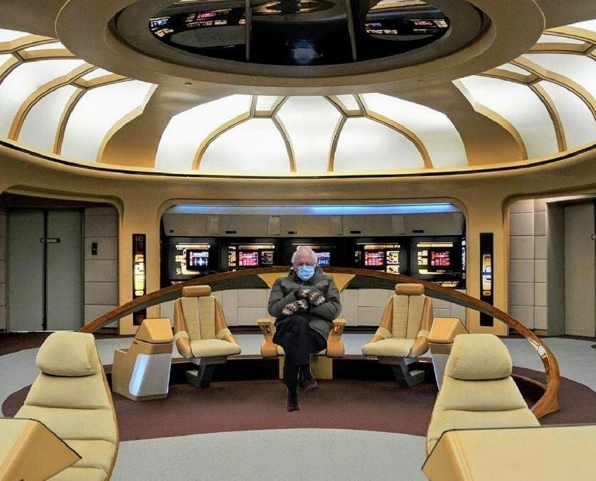 Bernie Sanders in Star Trek
