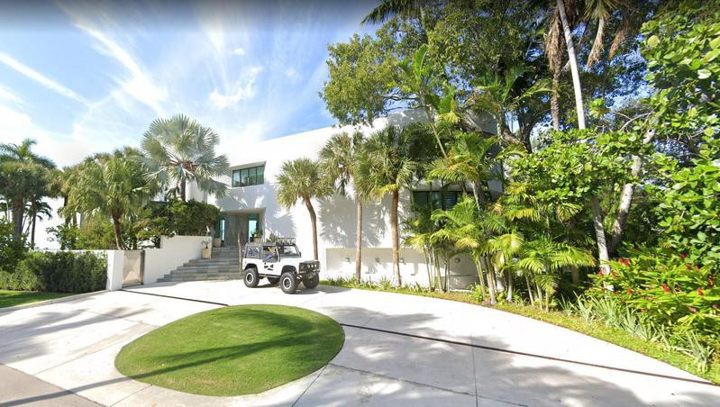 Frank Lopez's house from Scarface