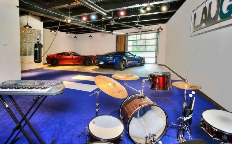 Ace Frehley's converted recording studio