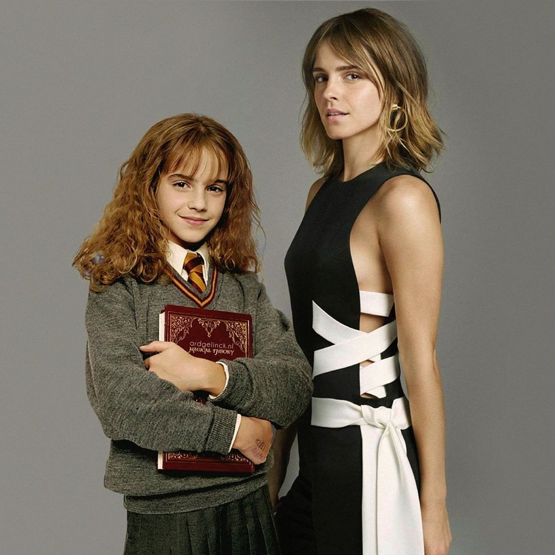Emma Watson and Hermoine Granger