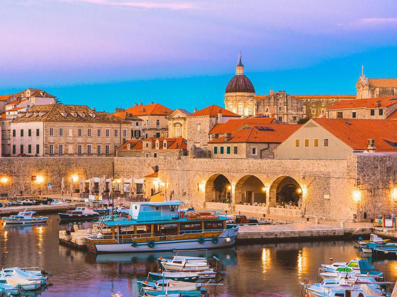 Dubrovnik old tow