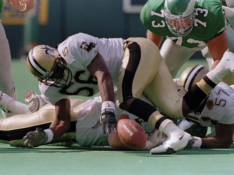 New Orleans Saints linebacker Pat Swilling
