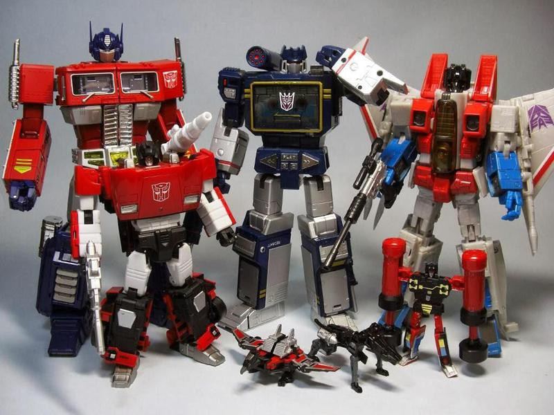 Transformer Figurines
