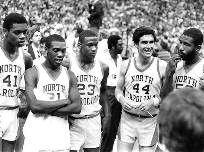 1982 North Carolina national champions