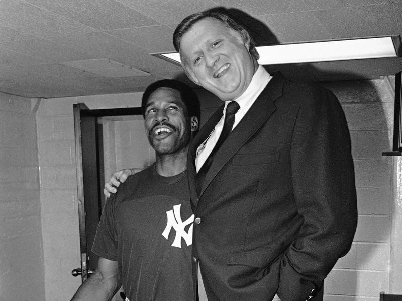 Dave Winfield and George Steinbrenner