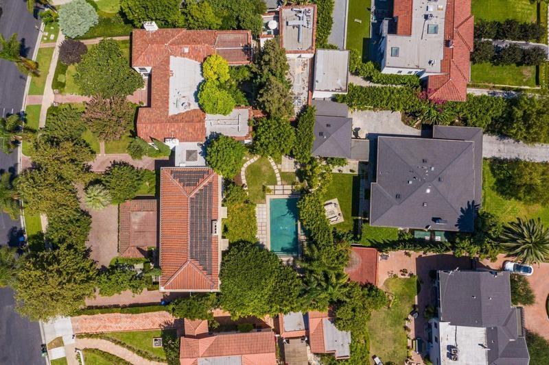 Danny Elfman and Bridget Fonda's houses in Los Angeles