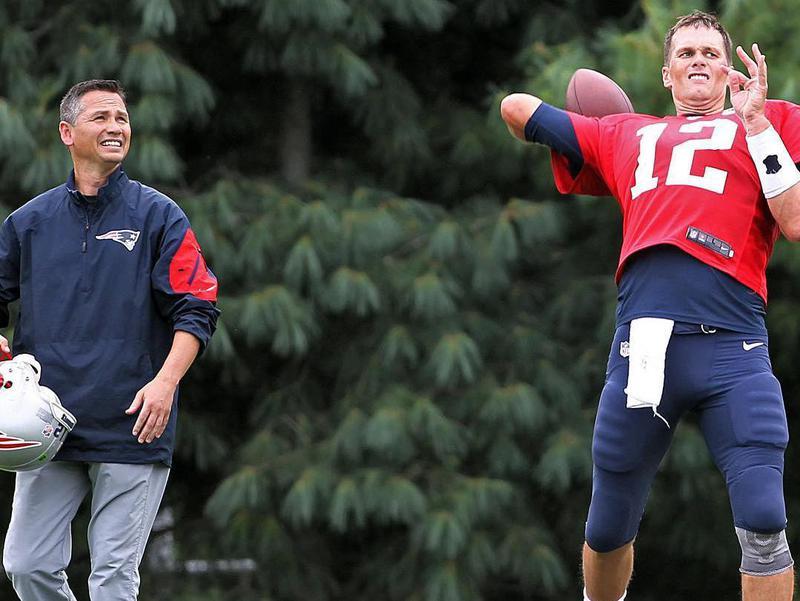 Alex Guerrero and Tom Brady