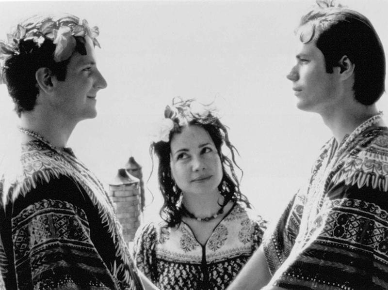 Janeane Garofalo, Michael Ian Black, and Bradley Cooper in Wet Hot American Summer (2001)