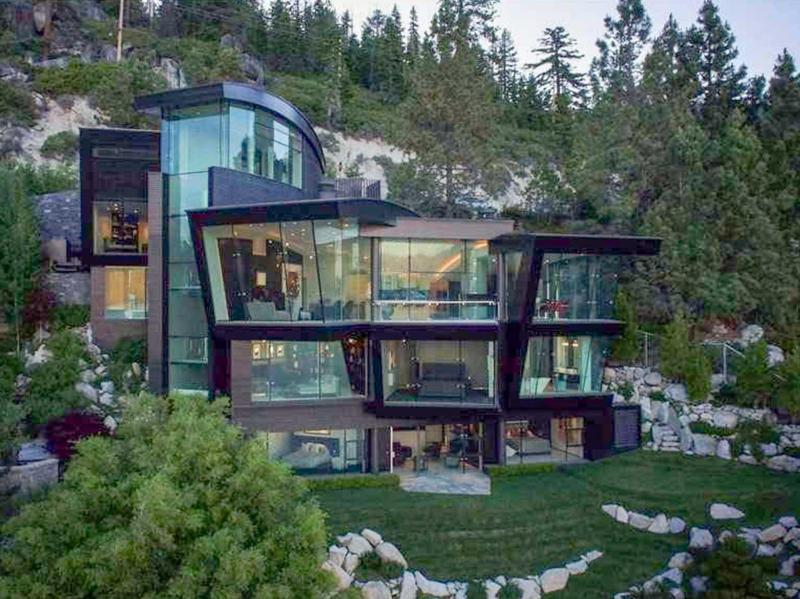 ultra modern mountain home in nevada