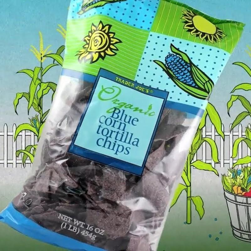 Organic Blue Corn Tortilla Chips