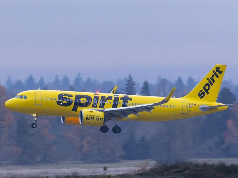 Spirit Airlines Airbus A320