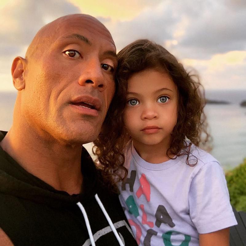 "Dwayne ""The Rock"" Johnson and Daughter Jasmine"