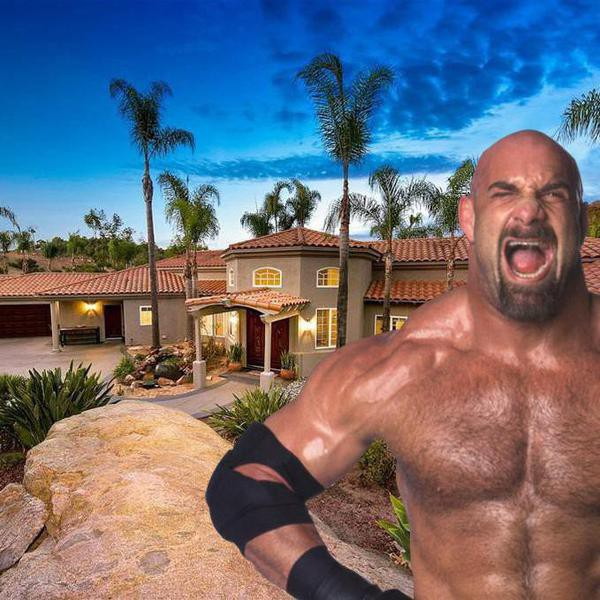Jackhammer! Wrestling Legend Bill Goldberg Is Selling His Massive San Diego Mansion