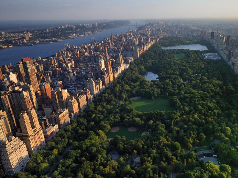 View of Central Park from One57