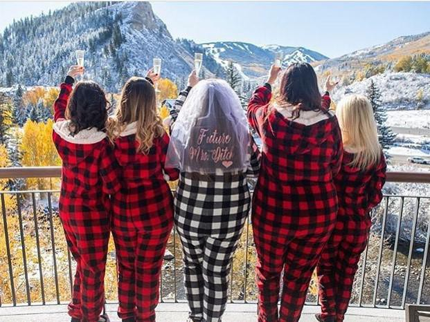 Bachelorette in Vail, Colorado