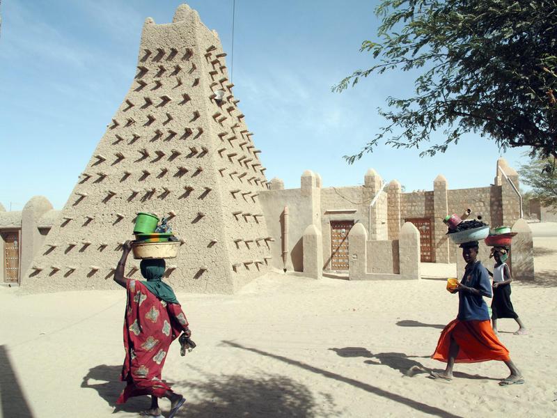 Sankoré Mosque in Timbuktu