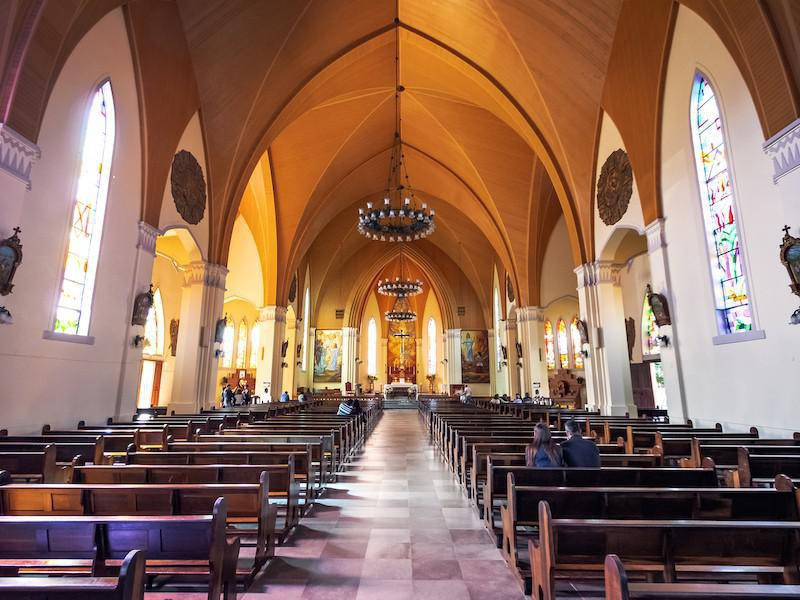 Cathedral of Our Lady of Lourdes interior
