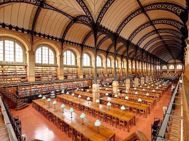 Bibliotheque Sainte-Genevieve, France
