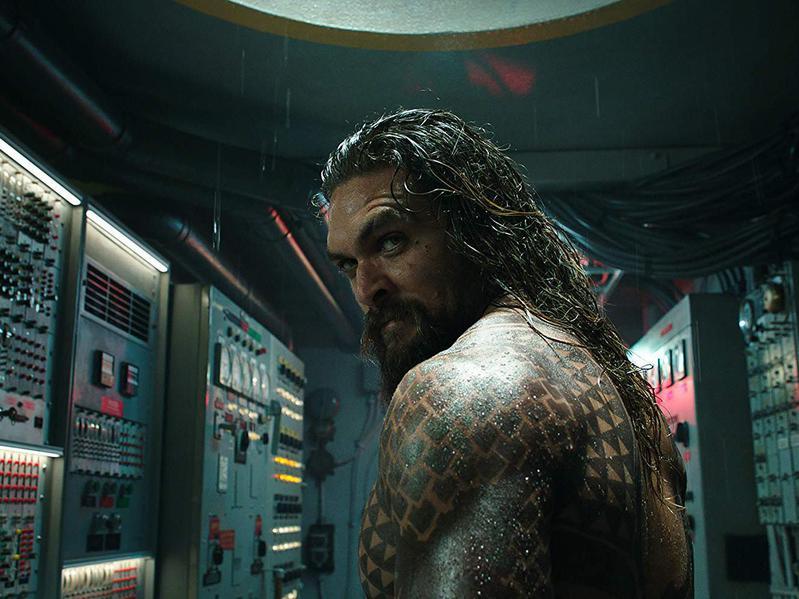 Jason Momoa in Aquaman (2018)