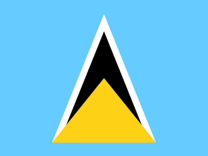 St. Lucia flag