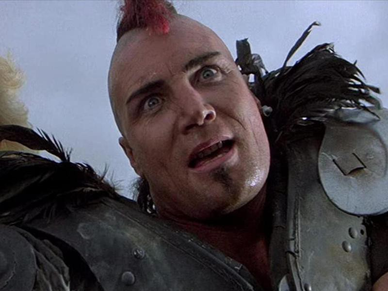 Vernon Wells in Mad Max the Road Warrior