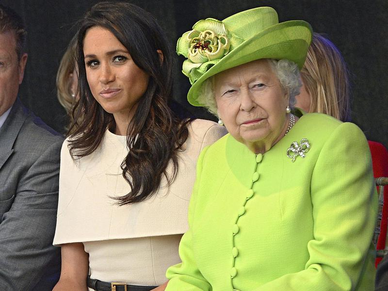 queen and meghan