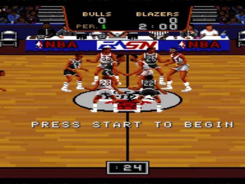 Bulls vs. Blazers in the NBA Playoffs
