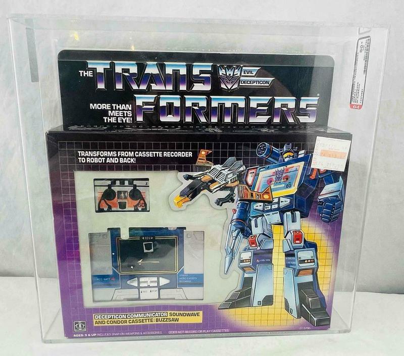 G1 Soundwave transformers