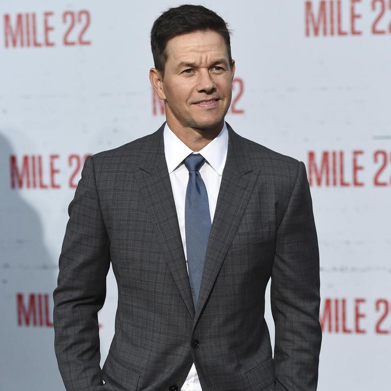 "Mark Wahlberg arrives at premiere of ""Mile 22"""