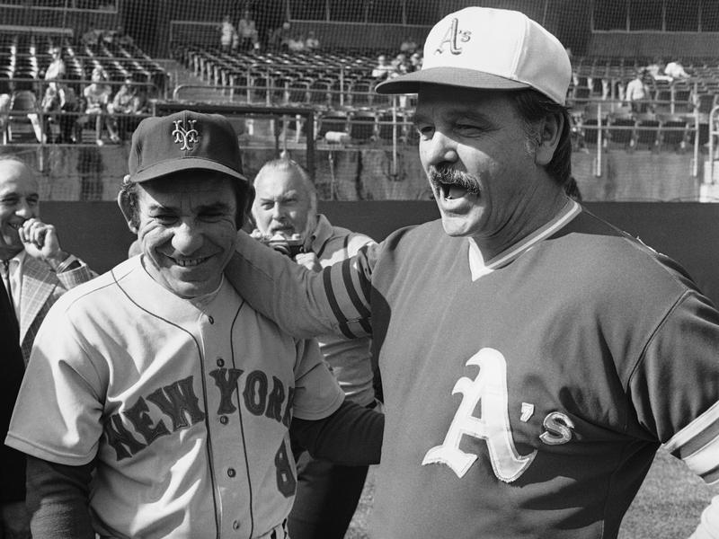 Dick Williams and Yogi Berra