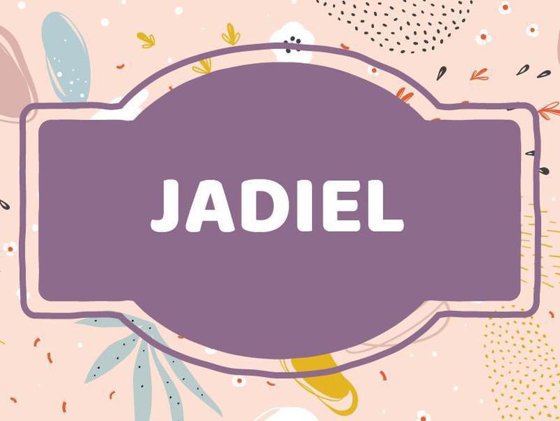 J Name Ideas: Jadiel