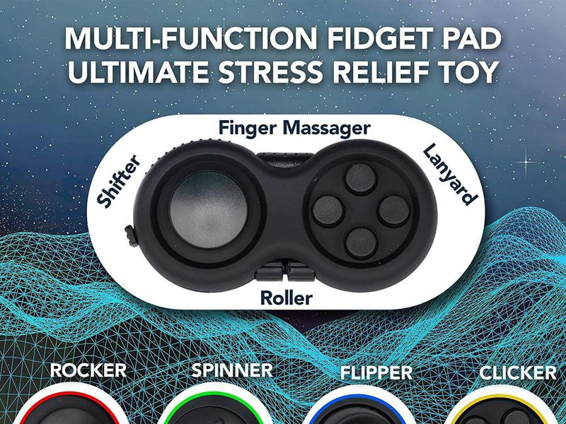 Fidget Pad Toy for Anxiety
