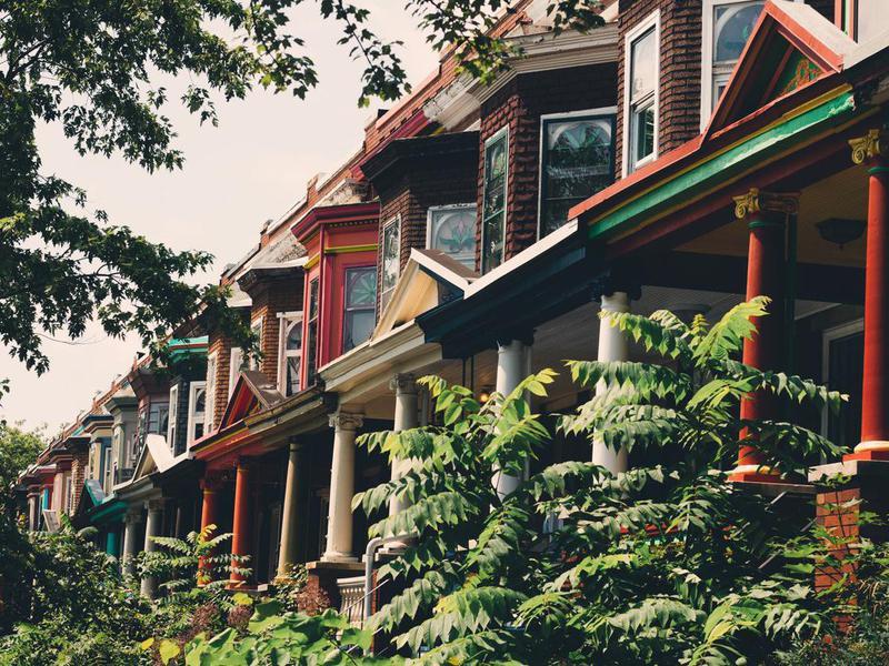 suburbs of Baltimore, Maryland
