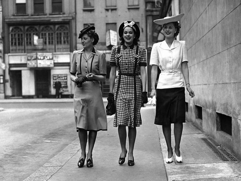 World War II Era Fashions