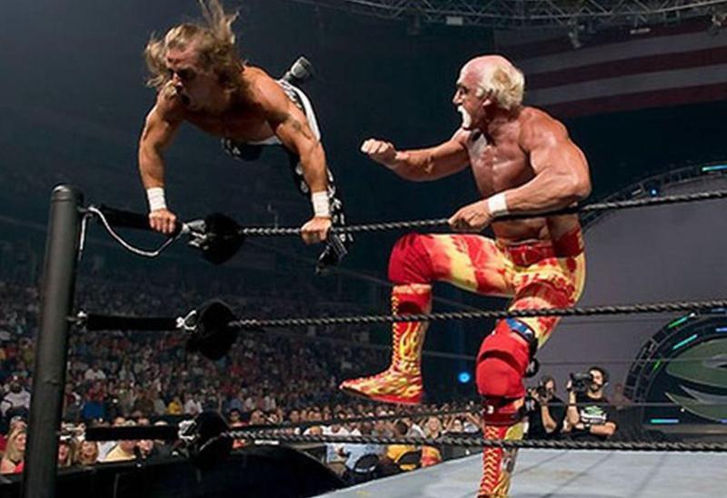 Shawn Michaels vs. Hulk Hogan
