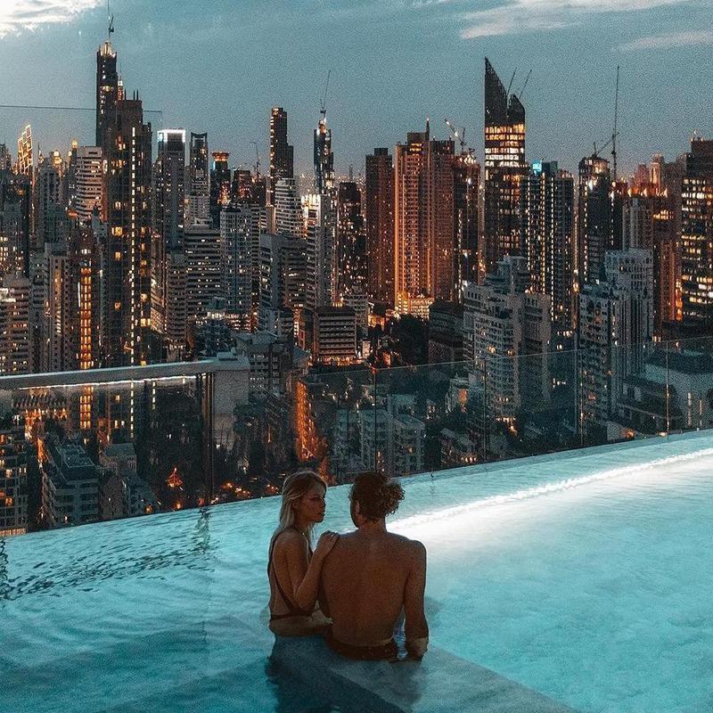 Suite Pool 137 Pillars Suites & Residences Bangkok