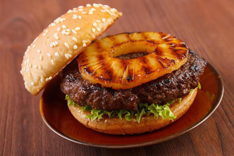Burger Topping Ideas: Pineapple