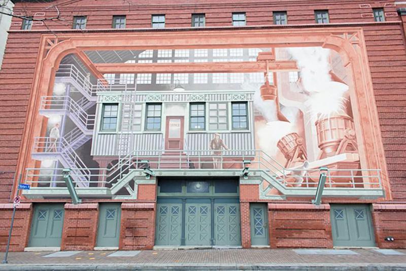 Richard Haas Mural