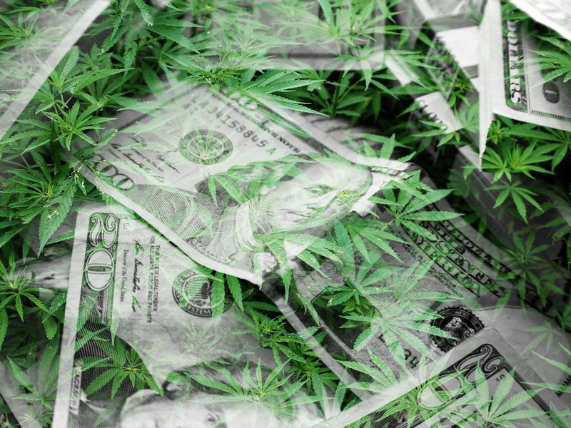 There's money in marijuana