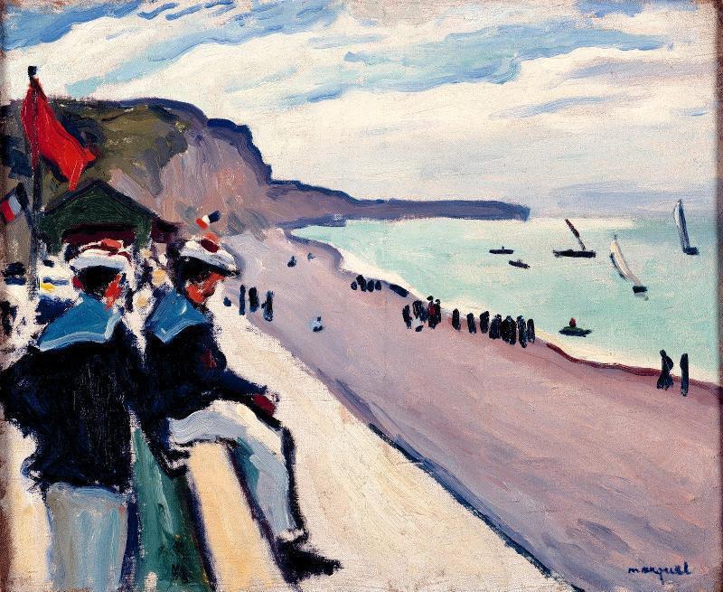 """""""The Beach at Fécamp"""""""