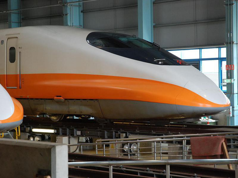 THSR 700T train in Taiwan