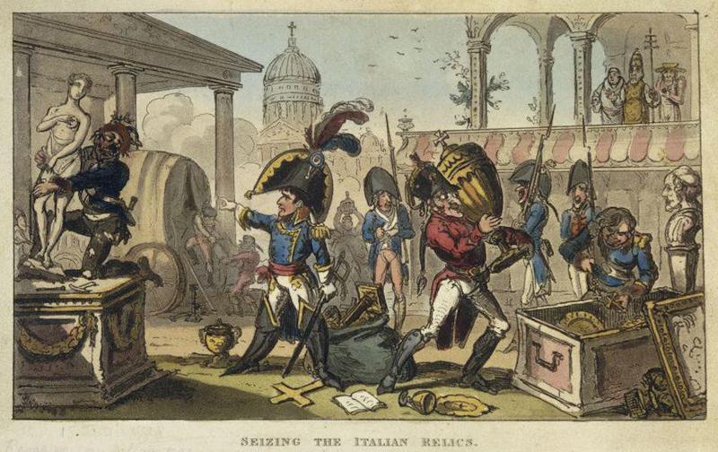 Napoleon steals