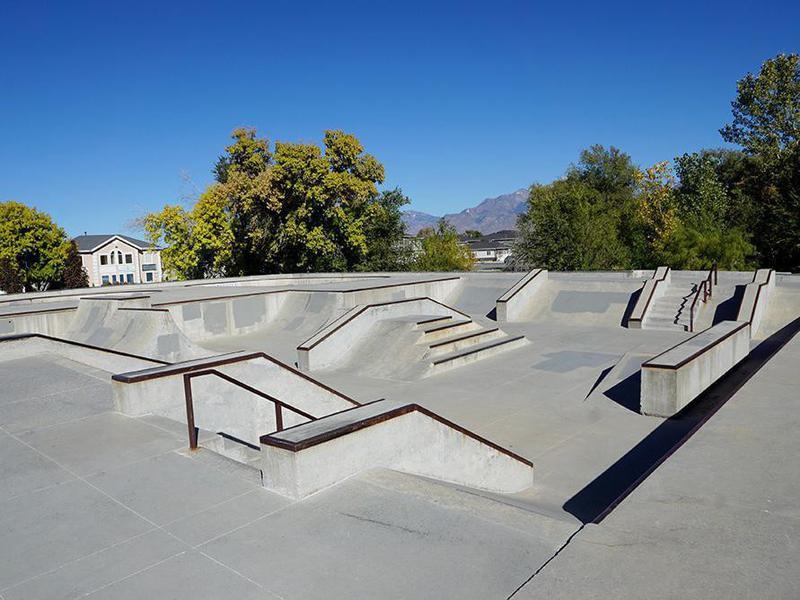 Riverton Skate Park in Riverton, Utah