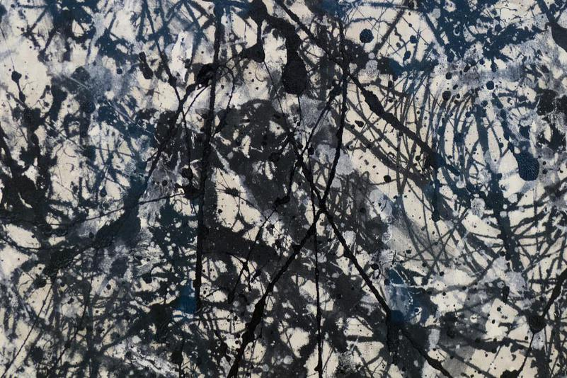Jackson Pollock, Number 26 A, Black and White