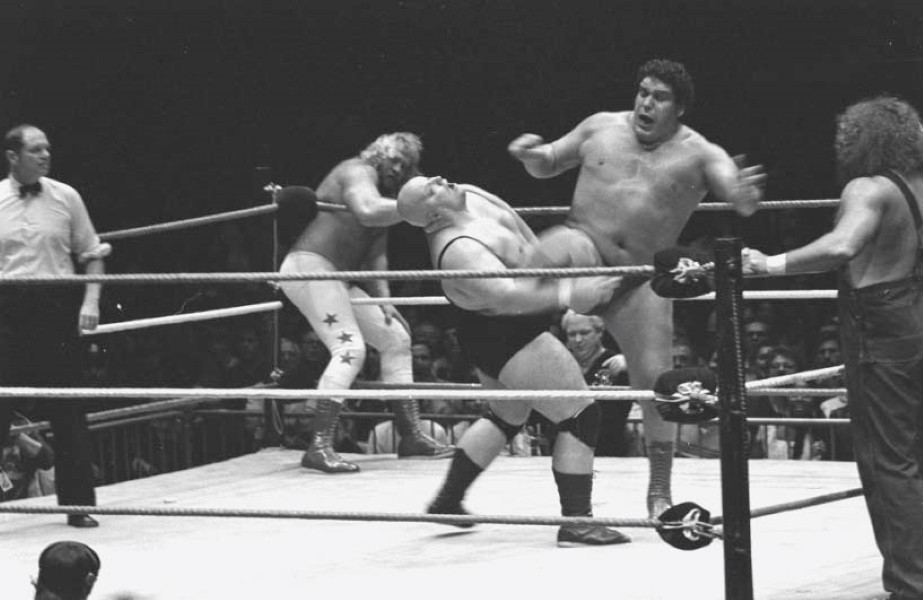 Andre the Giant and King Kong Bundy