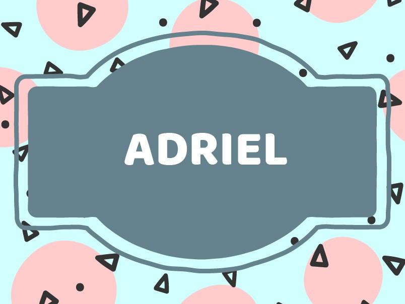 Unique Baby Boy Names: Adriel